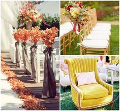 chaises de ceremonie mariage ete indien