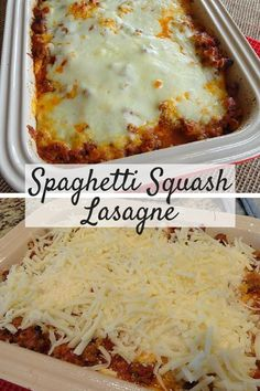 What a delicious low-carb lasagna recipe! I love cooking with spaghetti squash and I can't wait to make this again.