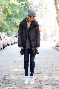 Puffer Cocoon Coat  | Shop it on Keatonrow.com