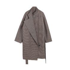 [XITAO] Women Casual Loose Wide-waisted Coat