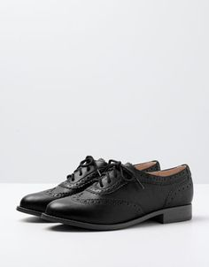 stamped derby shoes
