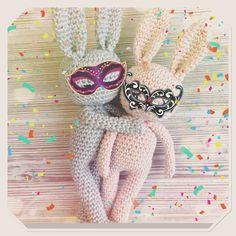 Little baby bunny loves carneval ❤