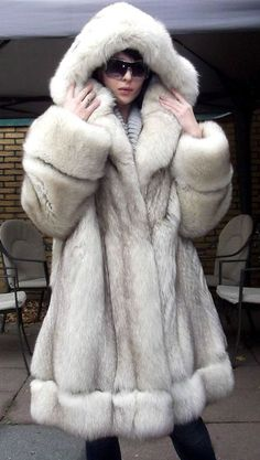 Blue Fox Fur Coat - Bing Images