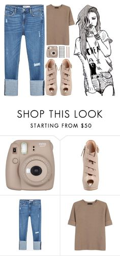 """*PLEASE READ DESCRIPTION*"" by zebbers4 ❤ liked on Polyvore featuring Chictopia, Giuseppe Zanotti, Zara, The Row and Muji"