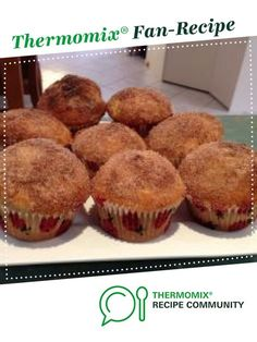 Doughnut Muffins by ejwarner. A Thermomix ® recipe in the category Baking - sweet on www.recipecommunity.com.au, the Thermomix ® Community.