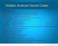 Hidden Android Secret Codes