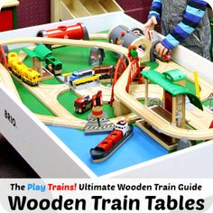 94 Best Toys Train Tables Images Train Table Train