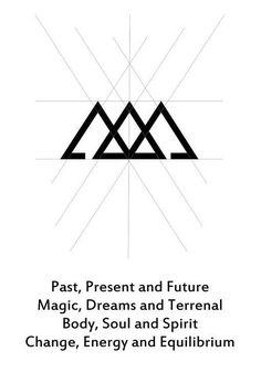 Resultado de imagen para tres triangulos pasado presente futuro