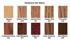 From The Left Varathane Early American Varathane Golden