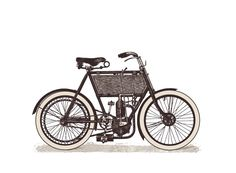 Vintage Transport Vector - BIKE