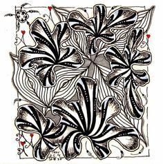 Tickled To Tangle Zentangles, Mind Blown, Doodle Art, Tangled, Mosaics, Adult Coloring, Pepper, Art Projects, Doodles