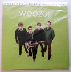 Weezer - Weezer (Green Album) LP Record - BRAND NEW - 180 Gram Limited Edition…