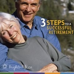 A successful #retirement is just three steps away!
