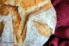 THERMOFAN: Hogaza de pan con pimientos asados, sin amasado (T...