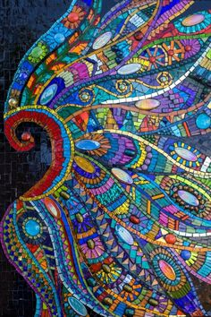 wow what an incredible mosaic by julie edmunds - Mosaic Design Ideas