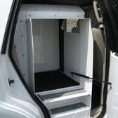 pickup truck Police Dog Kennel Transport Box by Havis K9 Kennels, Interior Windows, Car Storage, Police Dogs, Dog Travel, Easy Install, Panel Doors, Dog Stuff, Crates