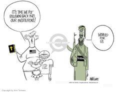 Cartoonist Group - Ann Telnaes' Editorial Cartoons