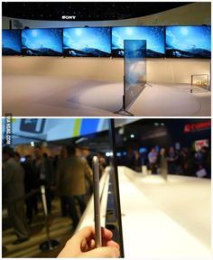 Sony's Ultra HD 4K TVs that are thinner than an iPhone 6 will arrive this summer. I want! via @RNullFx4 on Twitter