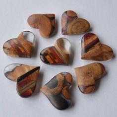 Wood and Resin #hearts #森のパレード で販売します。 #woodandresin #woodworking #pendant #木工 #ハンドメイド #寄木 #ペンダント #アクセサリー #atelierdehors