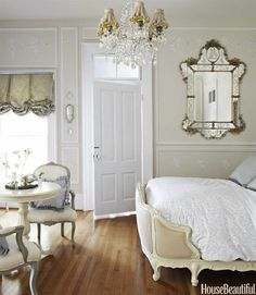 A French-Style Bedroom