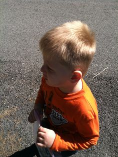 Zachary 1st day of headstart