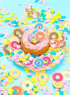 Easy DIY Donut Confe