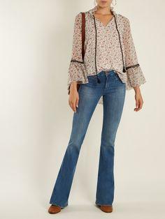 Marrakesh high-rise kick-flare jeans | M.i.h Jeans | MATCHESFASHION.COM