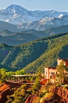 Atlas Mountains, Jebel Toubkal, South Western Morocco.