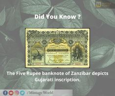 Banknote, Bank Of India, Stay Safe, Interesting Facts, Maps, Fun Facts, Connection, Coins, Africa