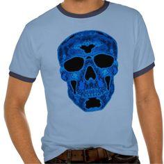 Blue Skull Horror Mask Tshirthttp://www.zazzle.com/blue_skull_horror_mask_tshirt-235041130604412167?rf=238020180027550641