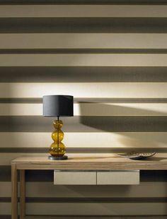 Classic striped wallpaper