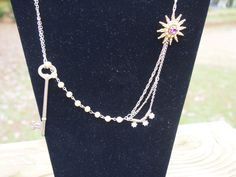 A personal favorite from my Etsy shop https://www.etsy.com/listing/254685137/upcycled-necklace-with-multiple-links-bb