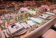 Décoration royale pour les convives du Bal de la Rose 2015