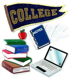 Jolee's Boutique Stickers - College