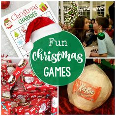 Need some ideas for fun Christmas games to play at your next holiday party? These great party games are great for large groups and for players of all ages. Your party will be a huge hit! Christmas Party Games For Groups, Christmas Party Activities, Fun Christmas Party Games, Christmas Games For Adults, School Christmas Party, Christmas Events, Family Christmas, Holiday Fun, Holiday Parties