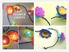 How To Make DIY Flower Lights | DIY Tag