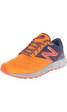New Balance Men's MT690V1 Trail Shoe, Lava/Gravity, 12 D US Best Price