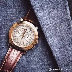 Ready to Impress - Our fantastic mint-condition rose-gold #Patek Philippe 5070R Chronograph - Available now at http://ift.tt/1qIwSwQ
