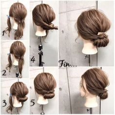 Pretty way to get my hair out of my face. Headband Hairstyles, Up Hairstyles, Pretty Hairstyles, Wedding Hairstyles, Easy Hairstyles For Medium Hair, Medium Hair Styles, Short Hair Styles, Hair Upstyles, Hair Arrange