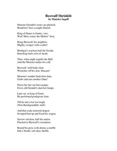 an analysis of how human grendel and his mother are in beowulf In a thorough analysis of beowulf, the christian and pagan elements,  any  normal human to hold and slashes through the monsters tough body (61-2)   grendel, as well as his mother, has no knowledge of weapons so he.