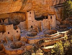 """Hey new #FollowFriday account: @alt.natparkser! This photo was by a #TravelerInColorado of Mesa Verde. """"In 2016, Mesa Verde National Park officials closed Spruce Tree House because of crumbling rock. Previous restoration efforts and more extreme temperature swings, which may be connected to climate change, are two reasons why the staff here thinks rock is crumbling."""" #ClimateChangeIsReal"""