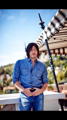 Norman Reedus. Looks great in anything he wears.