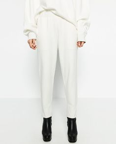 Image 3 of BAGGY JOGGING TROUSERS from Zara