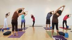 YogaGlo.com- unlimited classes for $18/mo. Think I'm going to try this along with going to my weekly class...