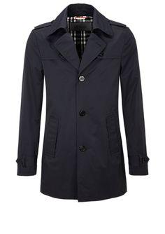 Smalle twill trenchcoat in het s.Oliver Online Shop