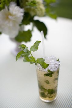 the idea of the mint julep! Can't stand the taste.... but love the idea!!