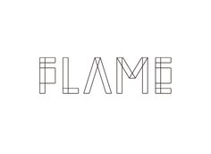 FLAME 2010 映像、CG、VFX、データ制作会社 「FLAME」のVIを担当。