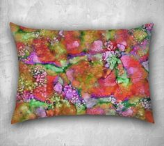 In The Beginning, Blood Orange - Pillow Cover, Lumbar, 26x20