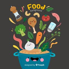 More than 3 millions free vectors, PSD, photos and free icons. Exclusive freebies and all graphic resources that you need for your projects Restaurant Fast Food, Flyer Restaurant, Restaurant Menu Template, Design Plat, Food Design, Menu Design, Recipe Book Design, White Wooden Floor, Healthy And Unhealthy Food