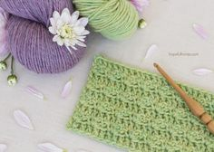 How To: Crochet The Silt Stitch - Easy Tutorial by Hopeful Honey